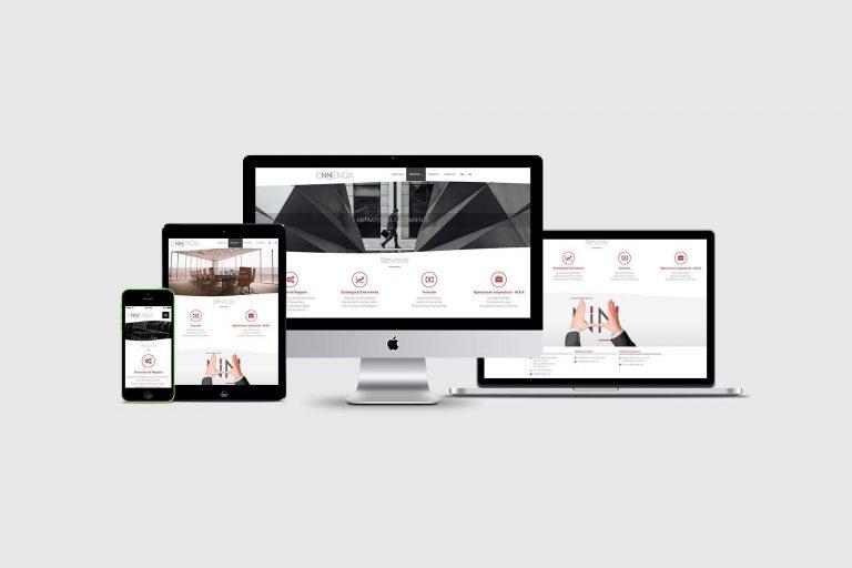 Página web corporativa Ennenda