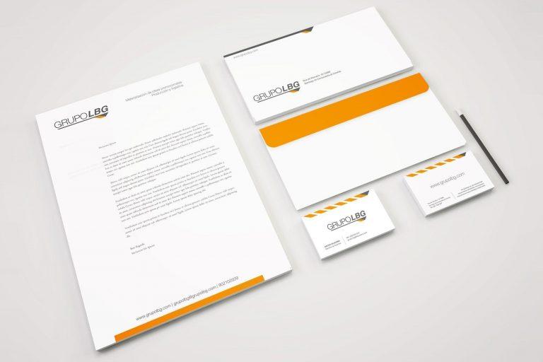 Identidad corporativa Grupo LBG